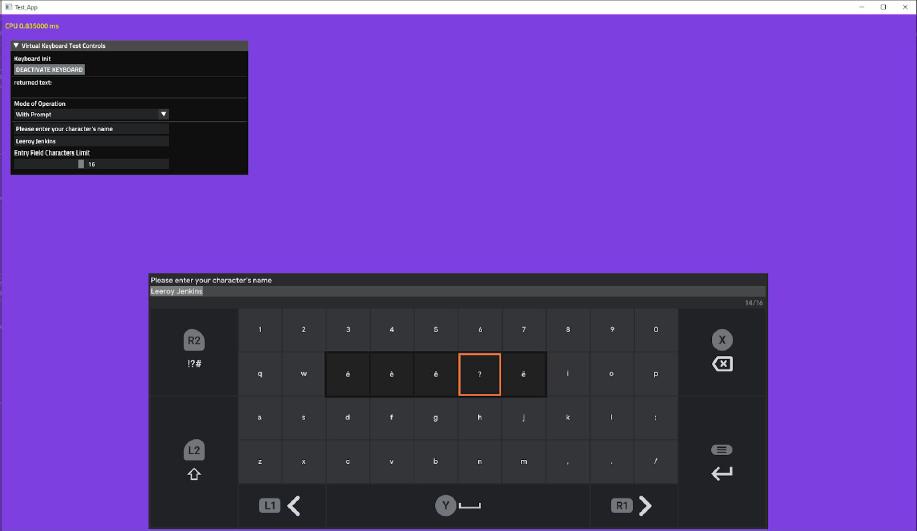 Stadia Keyboard